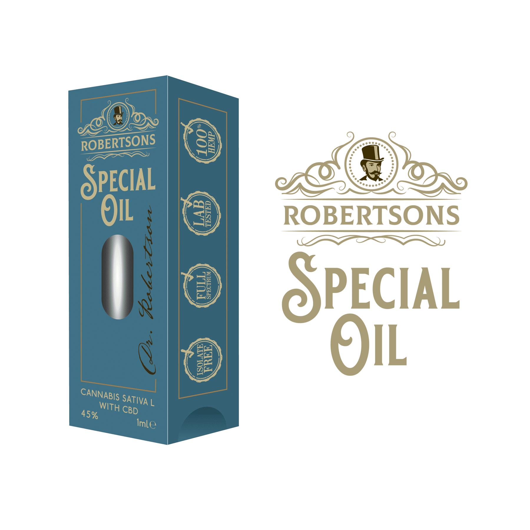 Robertsons Oil Packaging